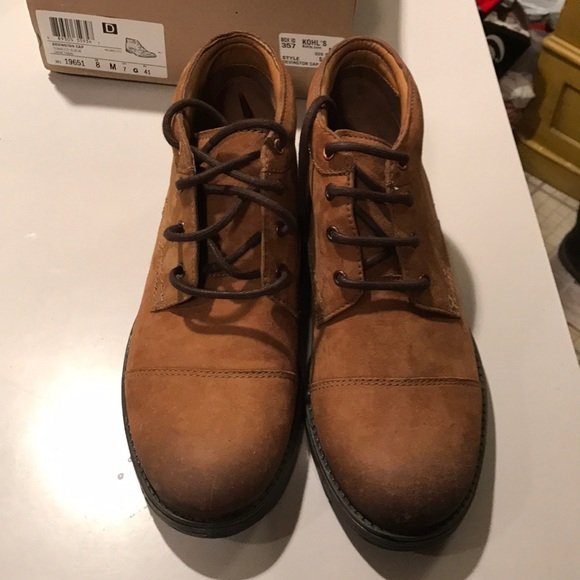 Clarks Other - New in box Clarks Devington men's boot size 8